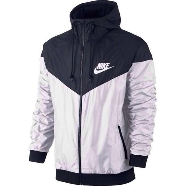 jacket, nike jacket, windbreaker, black