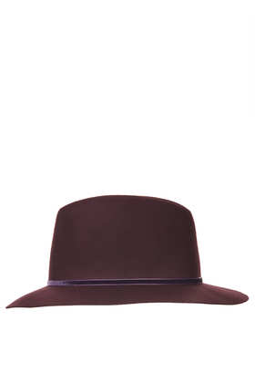 Clean Edge Fedora Hat - Back In Stock  - New In  - Topshop