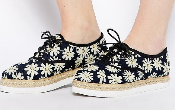 shoes floral asos