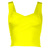 Yellow Party Top - Strappy Bandage Crop Top | UsTrendy