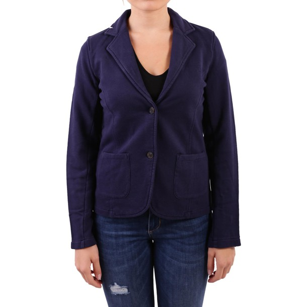 jacket cotton navy blue