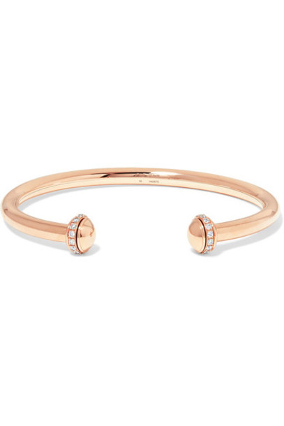 Piaget cuff rose gold rose gold jewels
