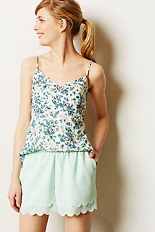 Scalloped Tap Shorts - anthropologie.com