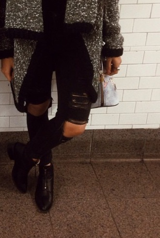 jeans ripped ripped jeans holes dark jeans orion orion vanessa orion carloto