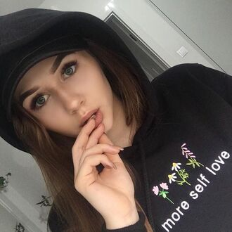 blouse yeah bunny more love hoodie sweatshirt foral boho