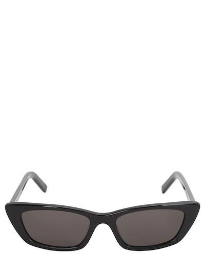 SAINT LAURENT Nw Sl277 Acetate Sunglasses Black
