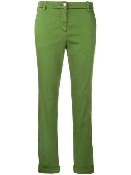 women spandex cotton green pants