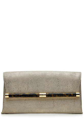 envelope clutch clutch leather gold bag
