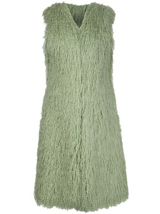 jacket sleeveless green