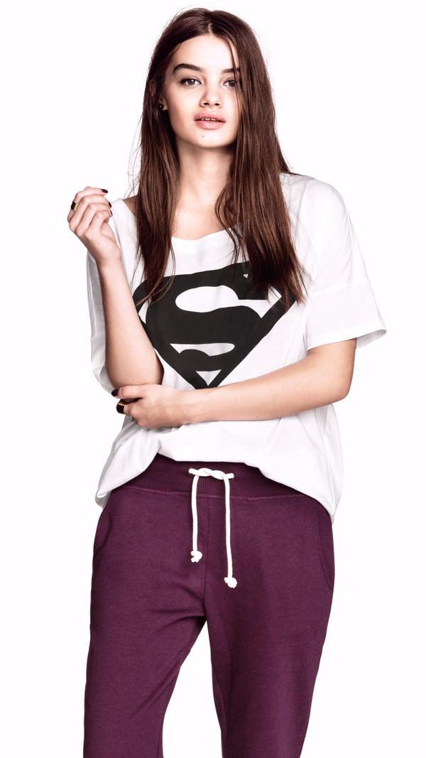 t-shirt superman oversized cool shirts