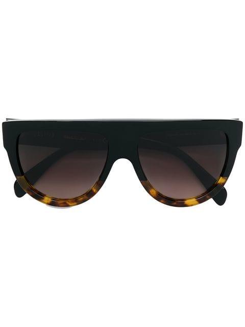 356da20d6 Celine Eyewear Солнцезащитные Очки в Квадратной Оправе - Farfetch