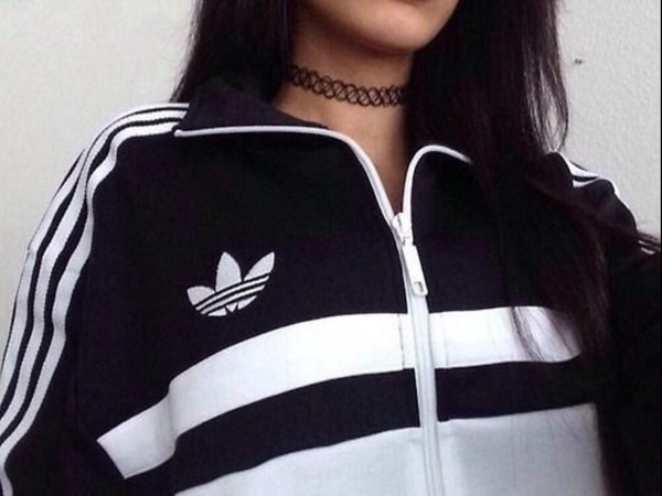 jacket adidas rare black white stripes adidas originals adidas sweater adidas varsity jacket