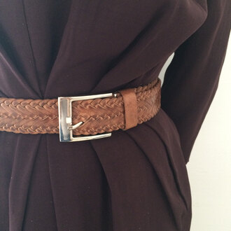 belt leather belt waist belt thin belt brown leather belt tan belt black belt cintura cuoio