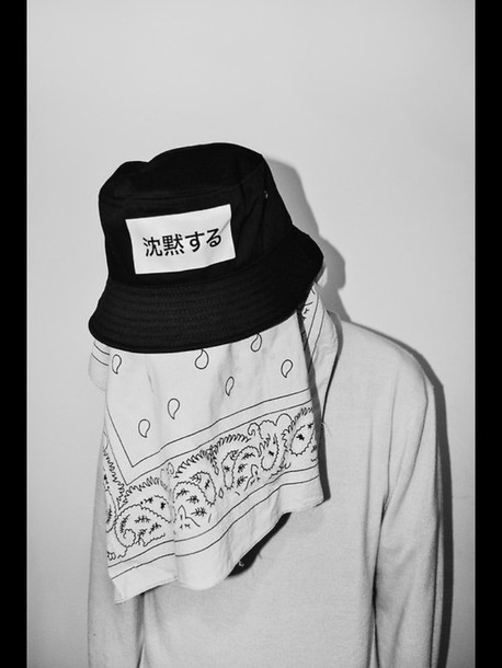 hat tril bucket hat mens accessories blvck bandana print