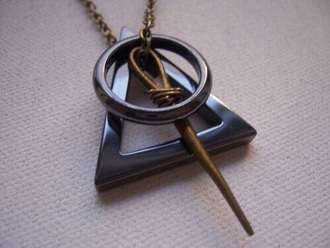 jewels harry potter necklae harry potter necklace harry potter and the deathly hallows