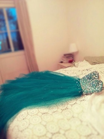 dress prom dress formal dress pretty long prom dresses blue green dress ball gown sparkles sequin prom dresses aqua heart lovely beautiful ball gowns material, sequin dress cute