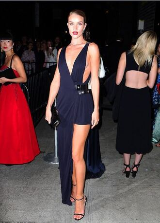 dress gown asymmetrical sandals rosie huntington-whiteley prom dress bag