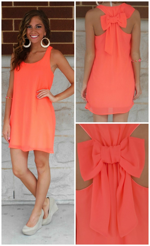 dress summer outfits cute cute dress pink dress summer dress coral