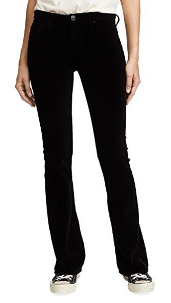 Hudson pants velvet black