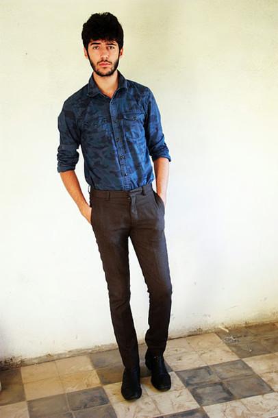 the zdaa shirt pants shoes