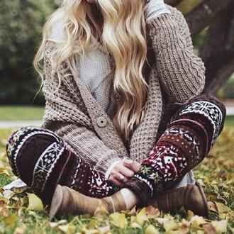 cotton stitch pattern christmas sweater