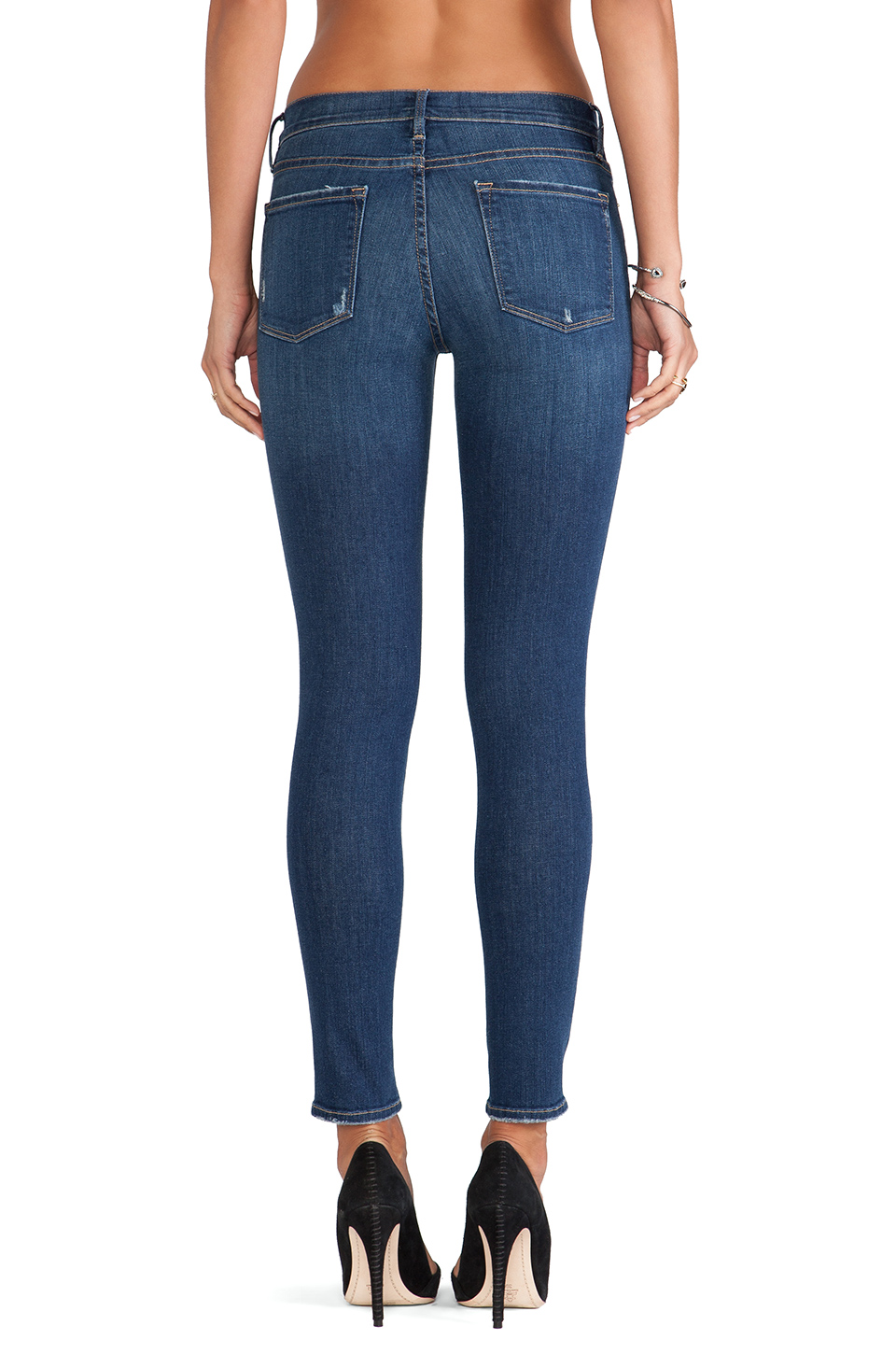Frame denim le skinny de jeanne in walgrove from revolveclothing.com