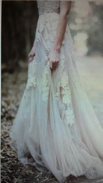 dress prom dress lace dress tulle skirt