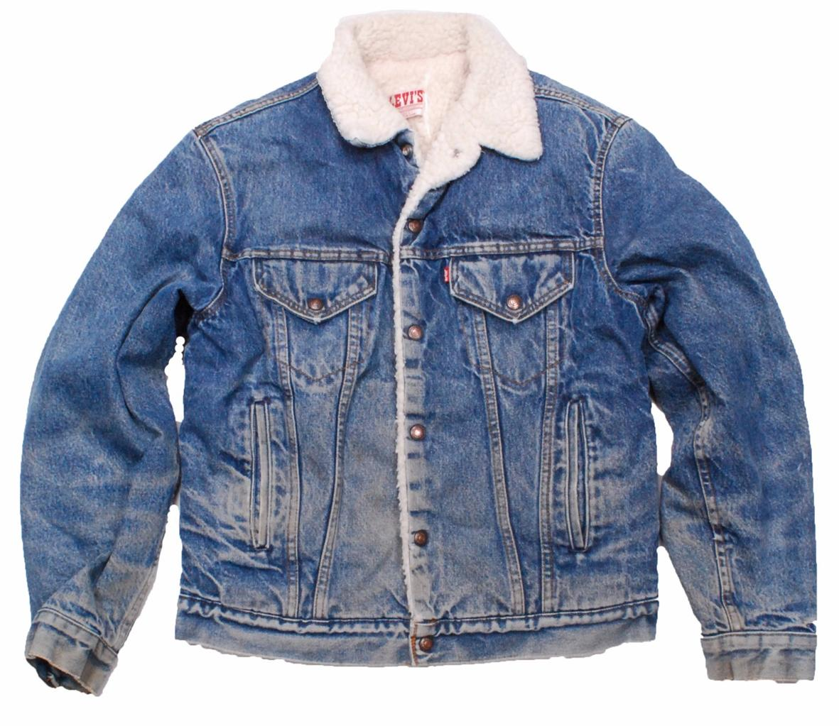 Denim Sheepskin Jacket