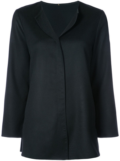Peter Cohen blouse tunic style women black top