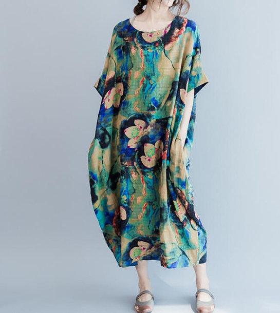 dress long summer dress