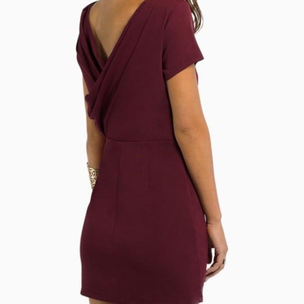 Backless Shift Dress