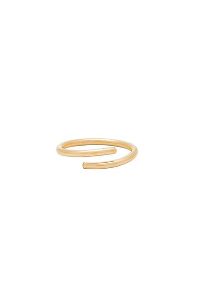 Paradigm ring metallic gold jewels