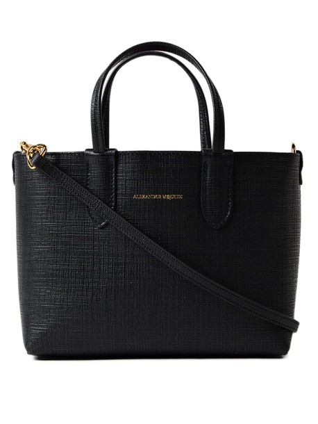 Alexander Mcqueen mini black bag