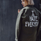 I hate everyone custom army jacket - jac vanek