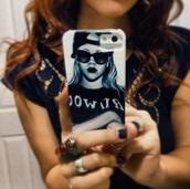 jewels,rihanna,fashion,iphone case,sunglasses
