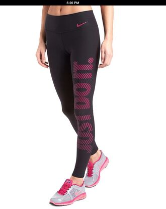 pants nike gym clothes workout leggings spandex