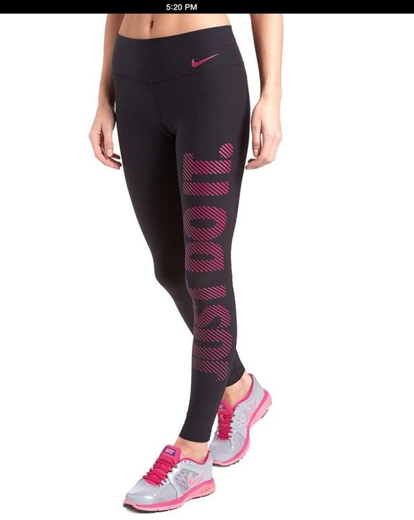 pants nike gym clothes workout leggings spandex
