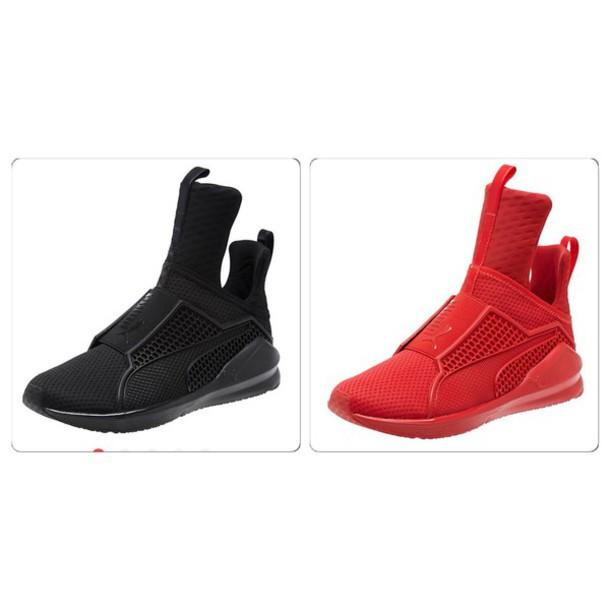 c153bfb3aafbc1 shoes rihana fenty x puma white red black puma puma sneakers rihanna pumas  puma x rihanna