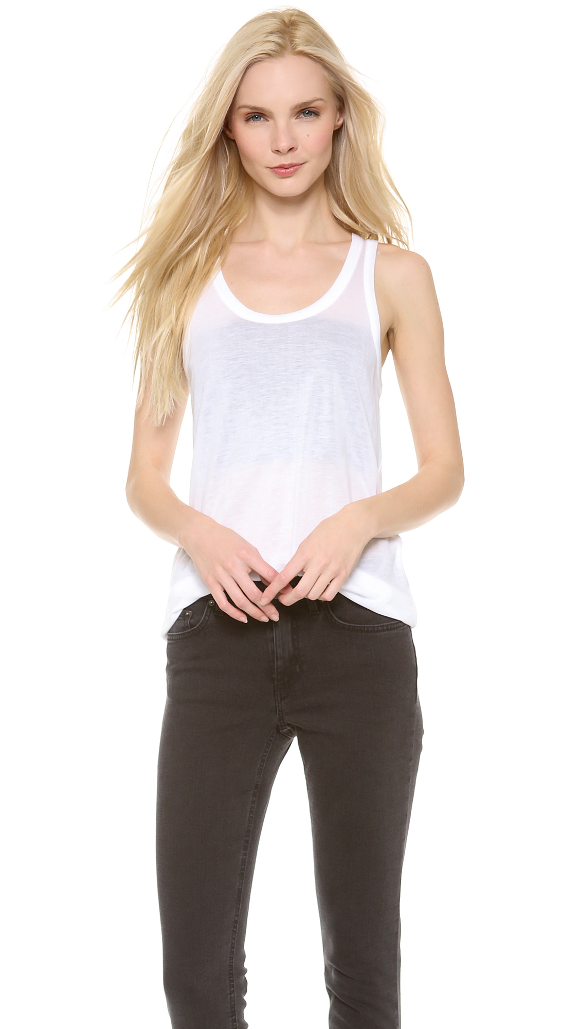 Shop skinny tencel cotton jeans at Neiman Marcus, where you will find free shipping on the latest in fashion from top designers.