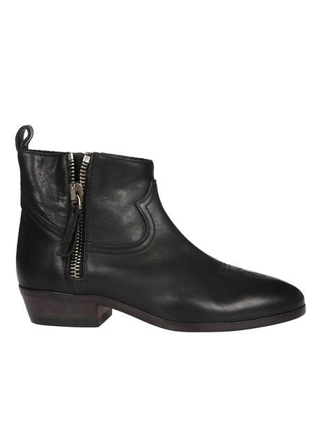 Golden goose ankle boots black shoes