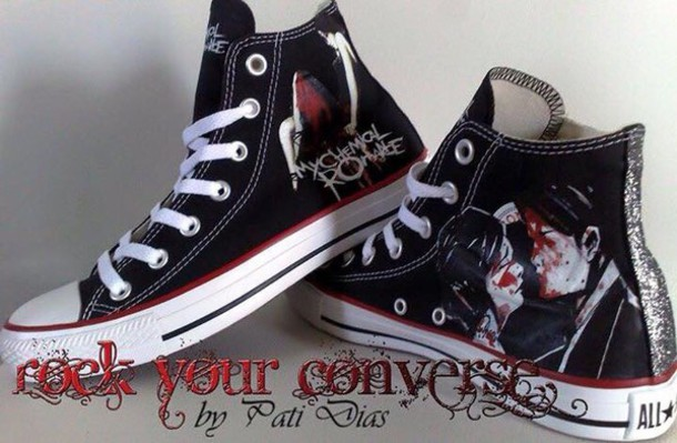 shoes my chemical romance