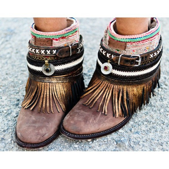 Pocahontas shoes boho indian boots boots