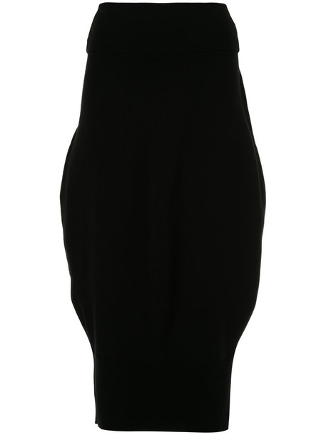skirt pencil skirt women black
