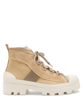 ankle boots beige shoes