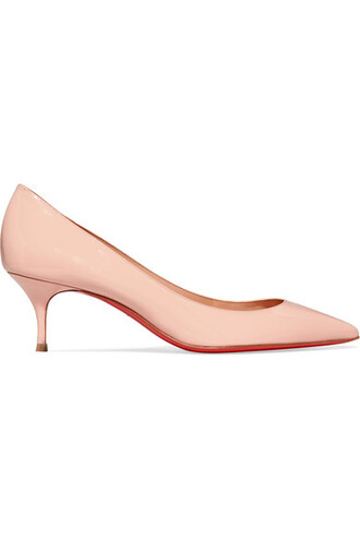 pastel pumps leather pink pastel pink shoes