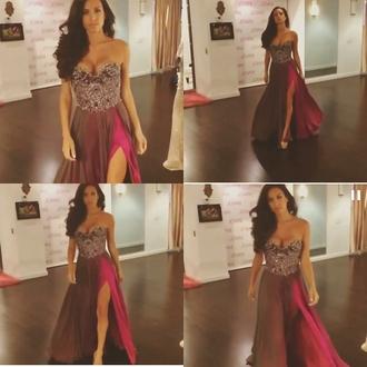 jovani prom dress jovani bourgogne redwine diamonds corset prom gorgeous