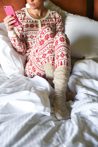 pajamas christmas pajamas christmas knitted socks socks onesie holiday season holiday gift