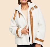 jacket,girl,girly,fur,fur jacket,white