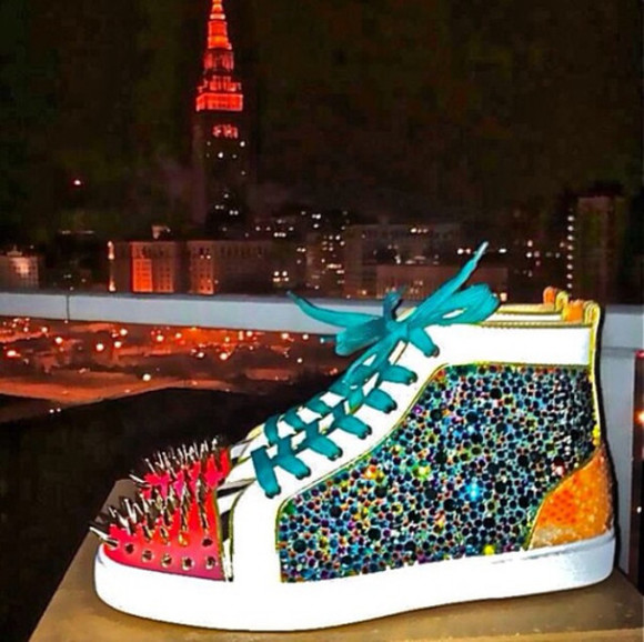 shoes christian louboutin snekers sneakers
