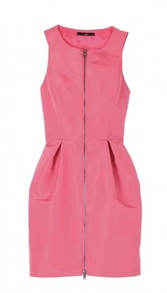 Silk Faille Sleeveless Dress   Shop   Tibi